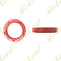 FORK SEALS 28mm x 38mm x 7mm WITH NO LIP (PAIR)