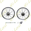 HONDA CG125 04-08 DISC BRAKE (RIM 1.40 x 18) FRONT WHEEL