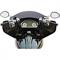 "INDIAN CHIEFTAIN 111 ABS, INDIAN ROADMASTER 111 ABS 2014-2016 HANDLEBAR KLIPHANGER 14"" BLACK/BLACK"