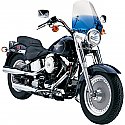 """H/D WINDSHIELD REPLACEMENT HANDLEBAR MOUNT WINDSHIELD REPLACEMENT THE SHOOTER 14"""" GRADIENT BLUE"""