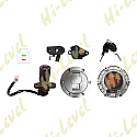 APRILIA RS125 IGNITION SWITCH LOCK SET INC. PETROL CAP