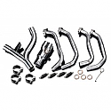 KAWASAKI Z1000/SX 10-18 STAINLESS STEEL 4-2 DE-CAT EXHAUST DOWNPIPES