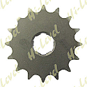 567-16 FRONT SPROCKET YAMAHA RD250LC, RD250D, RZ250, RD350LC, XS400