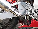 HONDA VTR1000 SP1 (RC51 98-04) PREDATOR EXHAUST LINK PIPES WITH SPRING HOOPS (PAIR)
