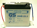 MOTORCYCLE BATTERY 6N4B-2-A3 BUDGET 6V
