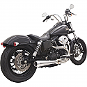 HARLEY DAVIDSON FXD, FXDWG EXHAUST EXHAUST ROAD RAGE 3 STAINLESS STEEL