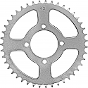 414-43 REAR SPROCKET KAWASAKI KSF250 MOJAVE 87-04, KEF300 95-03