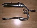 YAMAHA XT600E, TT600RE (95-06) PREDATOR SYSTEM ROAD IN S/STEEL