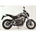 YAMAHA MT-09, MT-09 ABS, MT-09 ABS STREET RALLY, MT-09 ABS TRACER, MT-09 ABS SPORT TRACKER 2014-2016 FORCE FULL SYSTEM CARBON MUFFLER & S/S HEADER