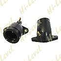 YAMAHA XVS650 97-02, XVS650A 98-06 CARB TO HEAD RUBBERS (PAIR)