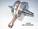 KTM250SX, EXC NEW CRANKSHAFT 54830018200/8300/8400