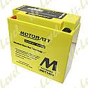 MOTOBATT BATTERY MBT14B4 FULLY SEALED CT14B-4, CT14B-BS (6)