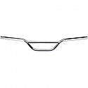 "BILTWELL INC. MOTO 25,4 MM O.D. HANDLEBAR 4.25"" CHROME"