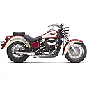 HONDA VT750C SHADOW, VT750C SHADOW ACE, VT750C2 ACE SHADOW, VT750CD SHADOW ACE DELUXE (97-03) COBRA EXHAUST SYSTEM SHOTGUN LOW BOY CHROME