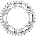 490-45 REAR SPROCKET KAWASAKI ZXR400R GREY IMPORT 1989