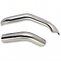 H/D FXD, FXDWG HEAT SHIELD FOR ROAD RAGE III 2-INTO-1 EXHAUST - HS STAINLESS