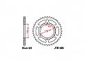 486-41 REAR SPROCKET CARBON STEEL