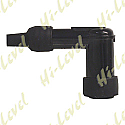 SPARK PLUG CAP LD05F NGK WITH BLACK BODY FITS THREADED TERMINAL