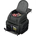 SADDLEMEN BACK SEAT SISSY BAR BAG TEXTILE BLACK - BR1800